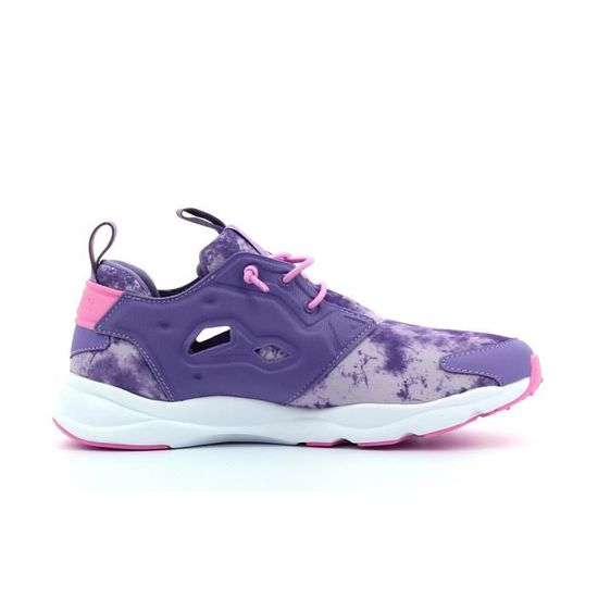 detailed look 3c018 5c69b Baskets basses Reebok Furylite Sunwashed Violet - Achat   Vente basket -  Cdiscount