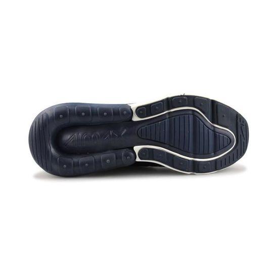 Basket Nike Air Max 270 Se Junior Bleu Marine Aj7372 400