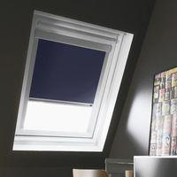 Store de fenêtre de toit occultant bleu VELUX S06 -L.114 x H.118 cm - MADECO