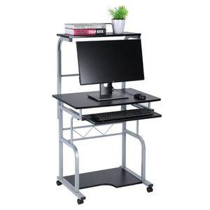 MEUBLE INFORMATIQUE Table Informatique Bureau Informatique Roulant ave