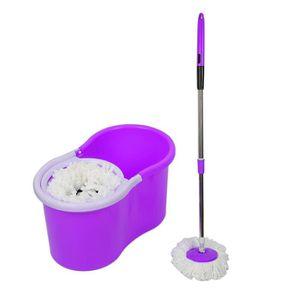 Kit de m/énage violet 11pcs pour hommes et femmes