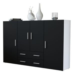 buffet haut achat vente pas cher cdiscount. Black Bedroom Furniture Sets. Home Design Ideas