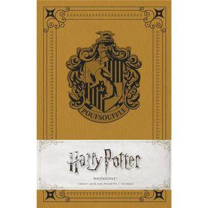 LIVRE 0-3 ANS ÉVEIL Livre - Harry Potter ; Poufsouffle ; carnet ligné