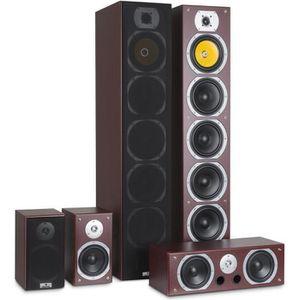 PACK ENCEINTE auna V9B Pack d'encentes hifi home cinema - Systèm