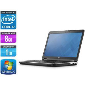 ORDINATEUR PORTABLE Pc portable Dell E6540 - I7 4800MQ - 8Go -1To - 15