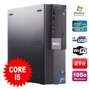 UNITÉ CENTRALE  PC Dell Optiplex 980 SFF Intel I5-650 3.2GHz 16Go