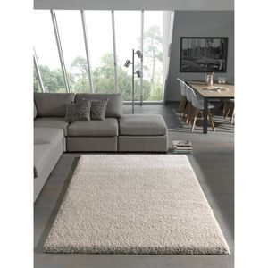 tapis shaggy achat vente tapis shaggy pas cher cdiscount. Black Bedroom Furniture Sets. Home Design Ideas