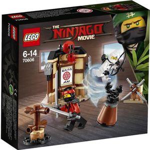 ASSEMBLAGE CONSTRUCTION LEGO® Ninjago Movie 70606 L'Entraînement au Spinji