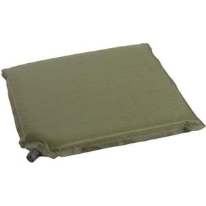 MOUSTIQUAIRE CAMPING Coussin d'assise gonflable vert olive - Miltec