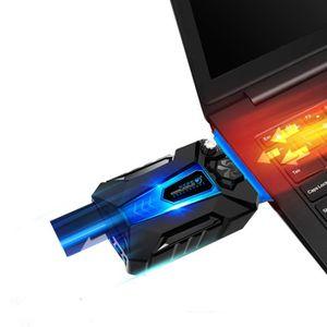 VENTILATION  Refroidisseur PC portable Gamer - Ventilateur haut