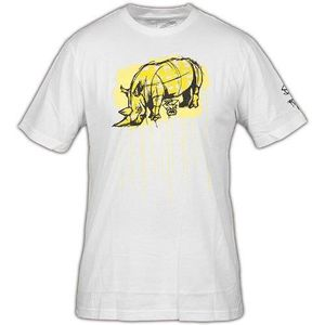 T-SHIRT T-Shirt ECKO UNLTD The Exhibit Save Pez Bleach Whi