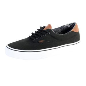 BASKET Basket Vans Era 59 Black/Material Mixte