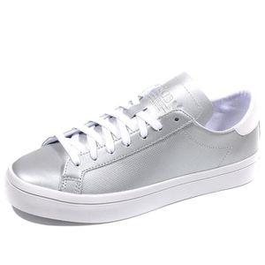 BASKET Chaussures Court Vantage Argent Femme Adidas
