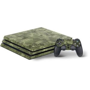 STICKER - SKIN CONSOLE SKIN CONSOLE ET MANETTES PS4 PRO - CAMOUFLAGE