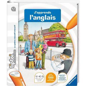 LIVRE INTERACTIF ENFANT TIPTOI Livre Interactif J'apprends L'Anglais
