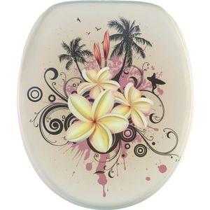 ABATTANT WC Abattant WC frein de chute soft close Tropicale -
