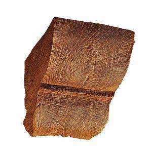 POUTRE - DÉCO PLAFOND Console pour poutre 12 x 12 cm, brun clair
