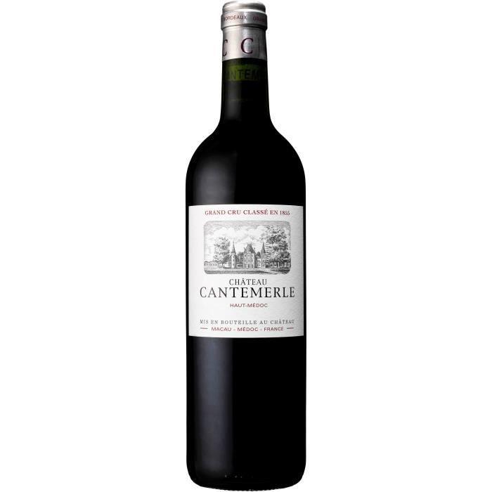 Château Cantemerle 2017 - vin rouge - Haut-Médoc AOC - 1 bouteille