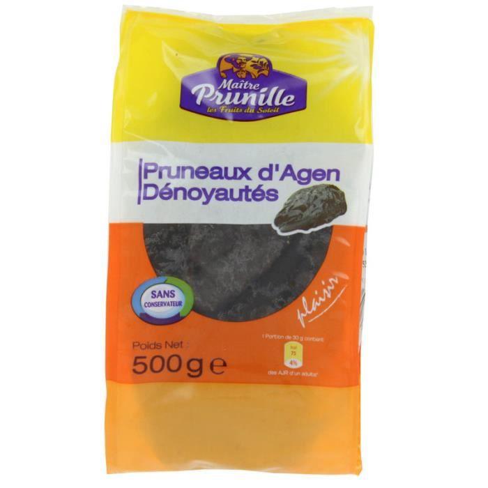 PRUNEAUX AGEN 30/35 500 GR