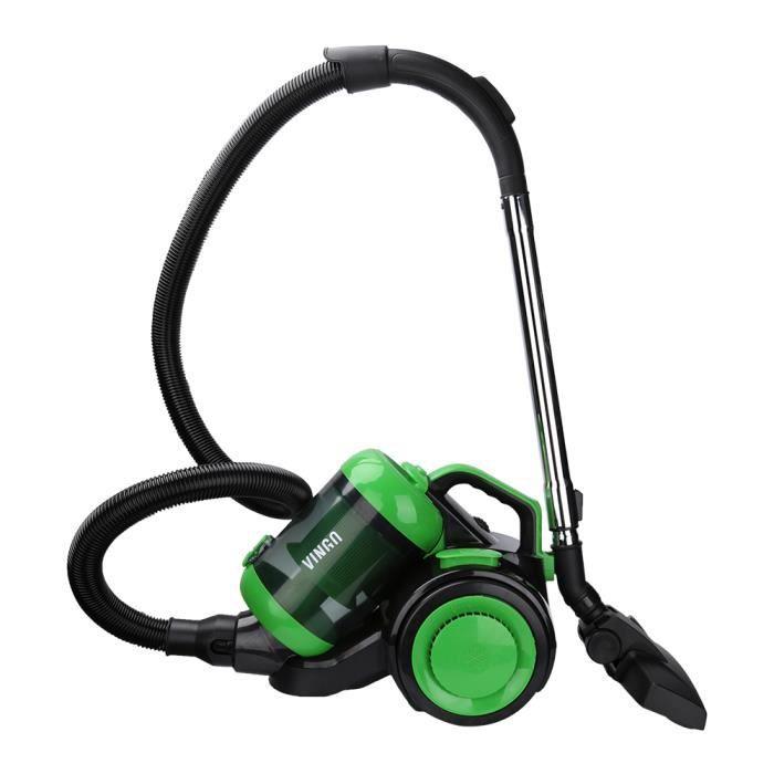 Hengda Aspirateur traîneau sans sac Puissance maximale: 900 watts volume du bac à poussière: 3 litres Filtre hygiénique lavable asp