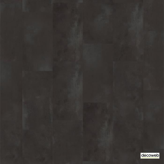 Dalles sol vinyle ID Essential Click 30 - Rust Metal Black (1,682m²)