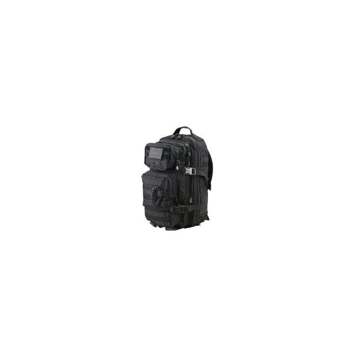 Sac à dos Small Assault Pack 28L Noir - Kombat Tactical