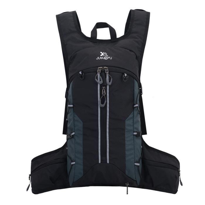 Sac à dos d'hydratation Pack imperméable à l'eau Sac à dos pliant léger et réfléchissant pour vessie 2L Course à pied Cyclisme Esc-7