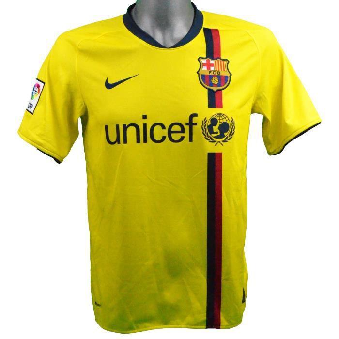 Maillot extérieur FC Barcelone 2008/2009 Iniesta