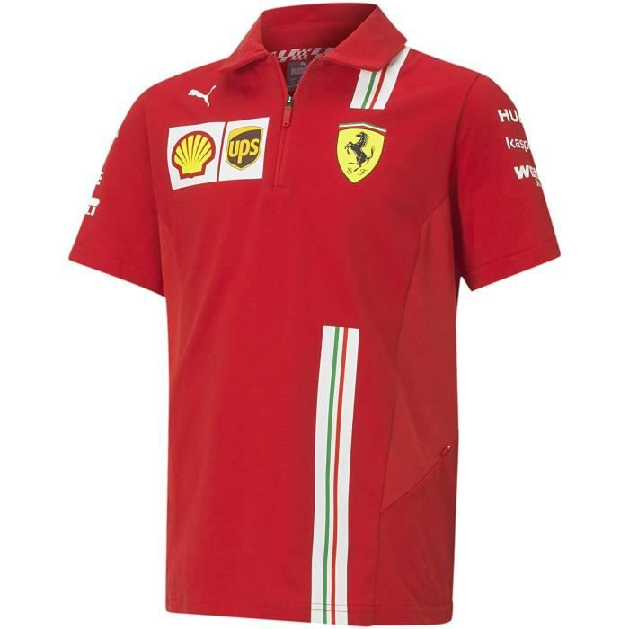 Polo Ferrari Scuderia Team Motorsport F1 Officiel Formule 1 Puma Collection