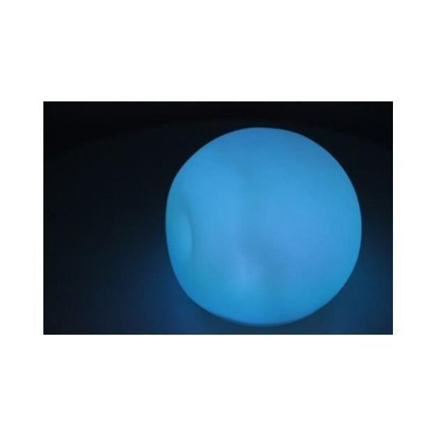 Boule lumineuse à LED multicolore (reconditionnée)