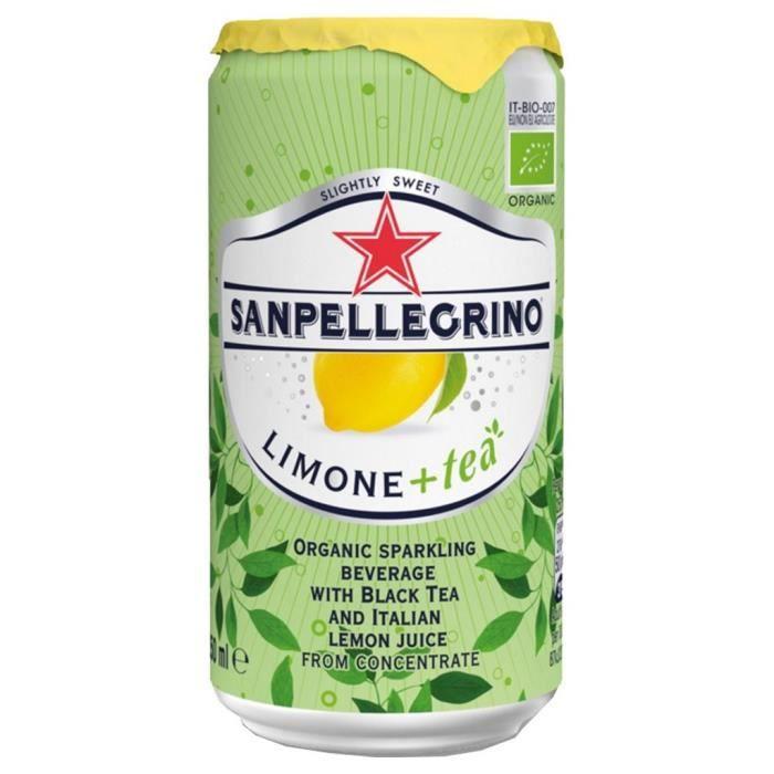 San Pellegrino Thé Citron 25cl (pack de 24)