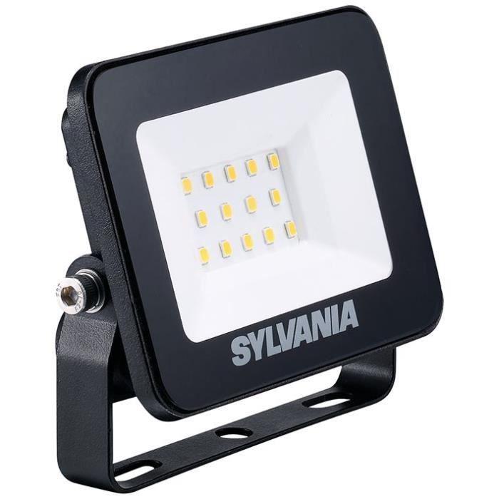 SYLVANIA - Projecteur extérieur 10w ip65 900lm sans détecteur 3000k