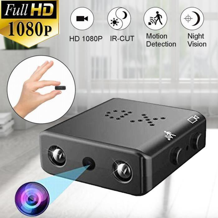 TEMPSA Mini Caméra Espion Cachée HD 1080P Vision Nocturne et Détection de Mouvement pour Surveillance de Sécurité