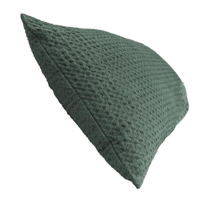 Coussin Hygge 30x50 cm coton 30 x 50 Vert