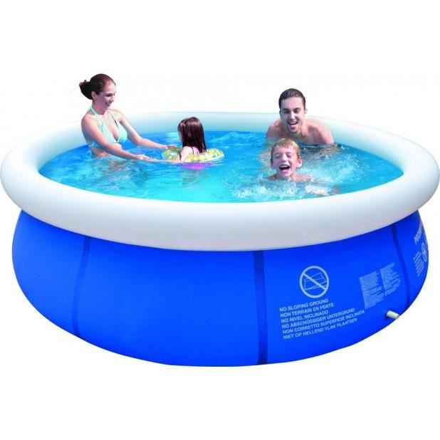 Magnifique piscine gonflable autoportante ronde 300x76cm for Achat piscine autoportante