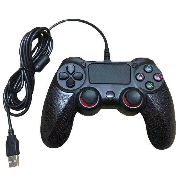 MANETTE JEUX VIDÉO Manette de jeu filaire Bluetooth pour Dualshock4 P