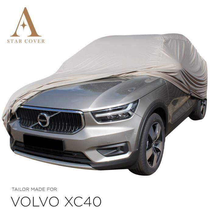Muchkey pour Volvo XC40 XC60 XC70 Ensembles de Housses de si/ège Avant Antid/érapant Protection de si/ège Auto Style Standard A Marron