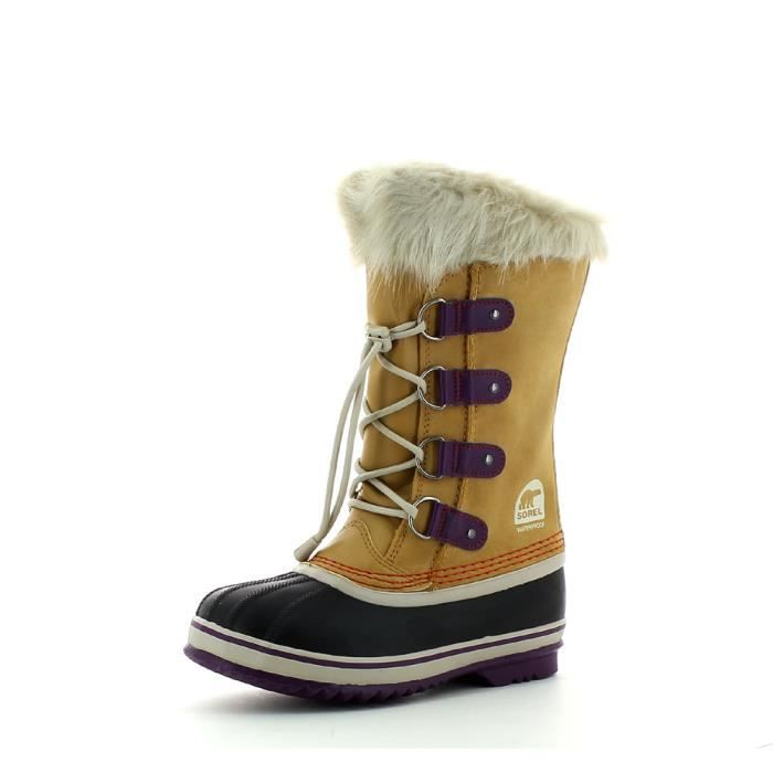 Chaussures Sorel beiges fille