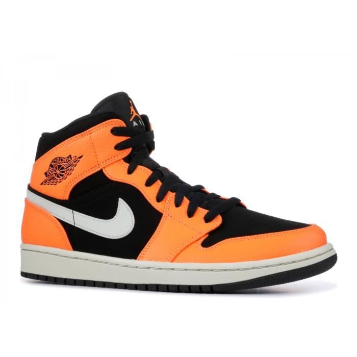 los angeles e8d5a e2f78 Basket Nike Air Jordan 1 Mid - 554724-062