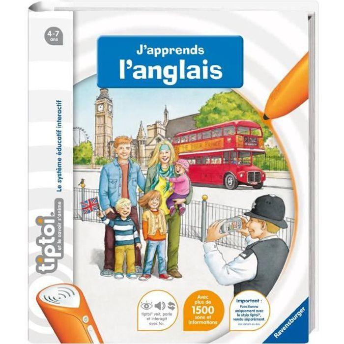 Tiptoi Livre Interactif J Apprends L Anglais