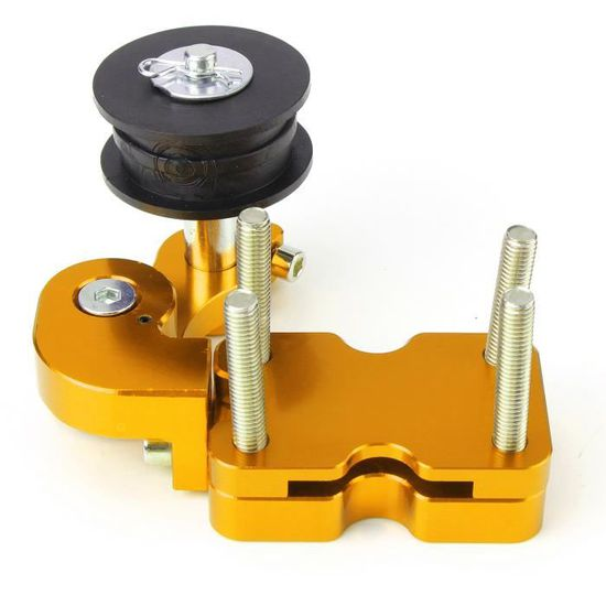 Rouge Qiilu Adjustable Chain Tensioner Bolt On Roller Moto Accessoires Modifi/és Universal Tool