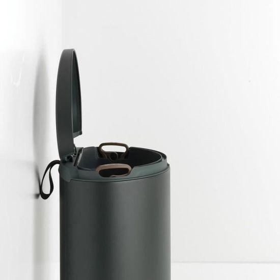 45 mm-Noir Brabantia plastique sol Tube
