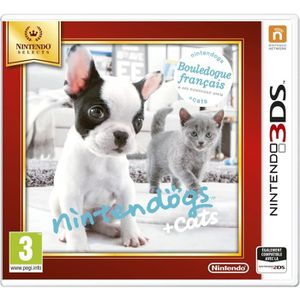 JEU 3DS Nintendogs + Cats Bouledogue Jeux Selects 3DS