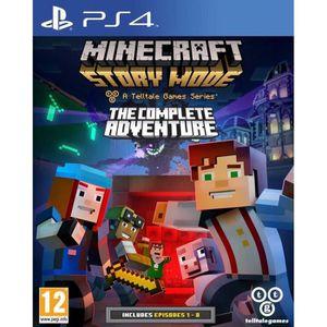 JEU PS4 Minecraft Story Mode Complete Edition Jeu PS4