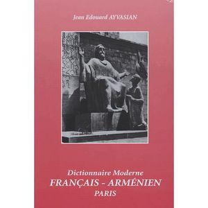 LIVRE LANGUES RARES Dictionnaire moderne français-arménien