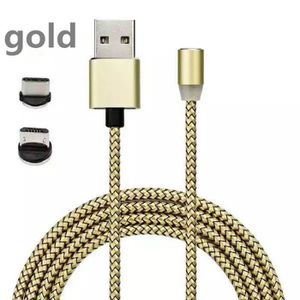 CHARGEUR - ADAPTATEUR  2A type magnétique C & Micro USB Câble chargeur ad