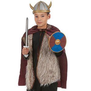 BÂTON - ÉPÉE - BAGUETTE Kit Viking - épée, bouclier et cape Enfant - 23176