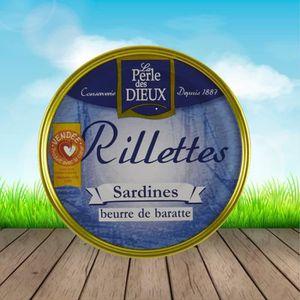 PRODUIT DE SARDINE Sardines au beurre de baratte à poeler La Compagni