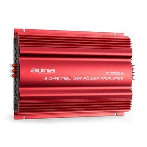 AMPLIFICATEUR AUTO auna C500.6 Amplificateur de puissance pour voitur