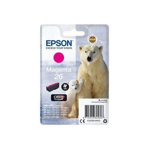 CARTOUCHE IMPRIMANTE EPSON Cartouche T2613 - Ours polaire - Magenta
